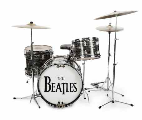 Ringo Starr's Ludwig oyster black pearl drum kit