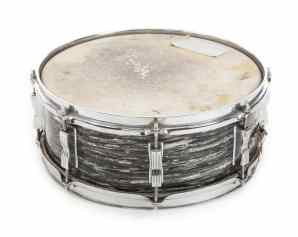 Ringo Starr's Ludwig oyster black pearl snare drum