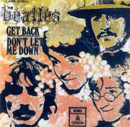 Get Back single artwork - Spain