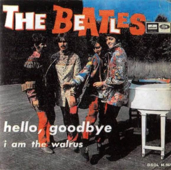 Hello, Goodbye single artwork - Spain