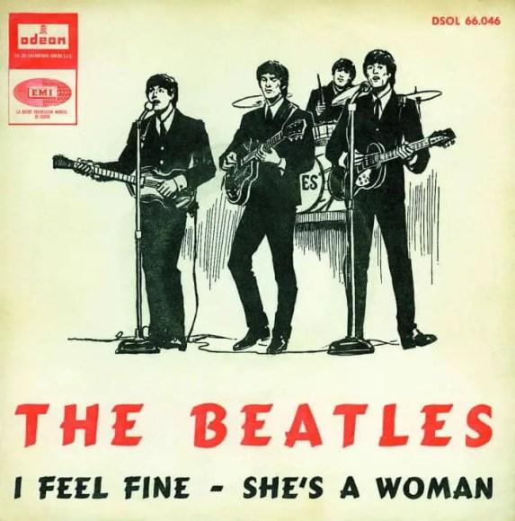 I Feel Fine single artwork - Spain