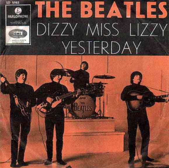 Dizzy Miss Lizzy single artwork - Sweden