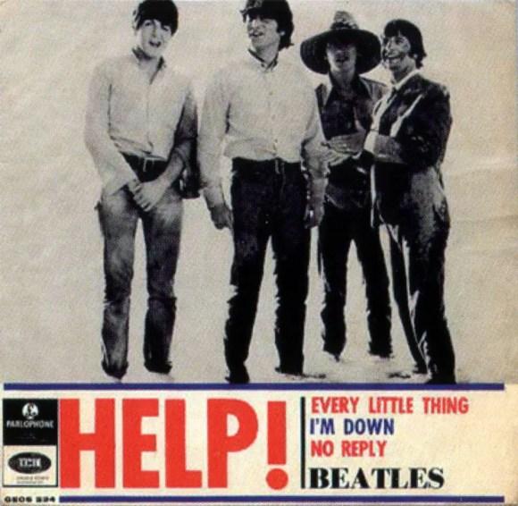 Help! EP artwork - Sweden