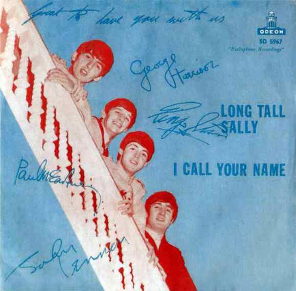 Long Tall Sally single artwork - Sweden