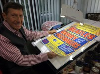 Beatles poster artist Tony Booth