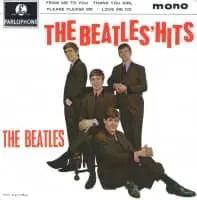 The Beatles' Hits EP artwork - United Kingdom