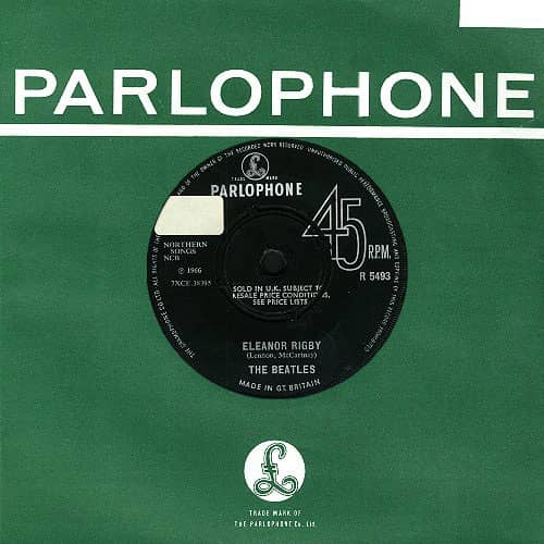 Eleanor Rigby single – United Kingdom