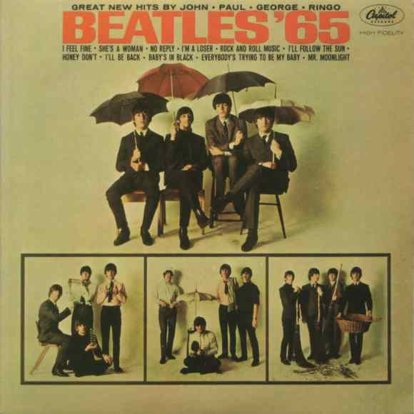Beatles '65 album artwork - USA
