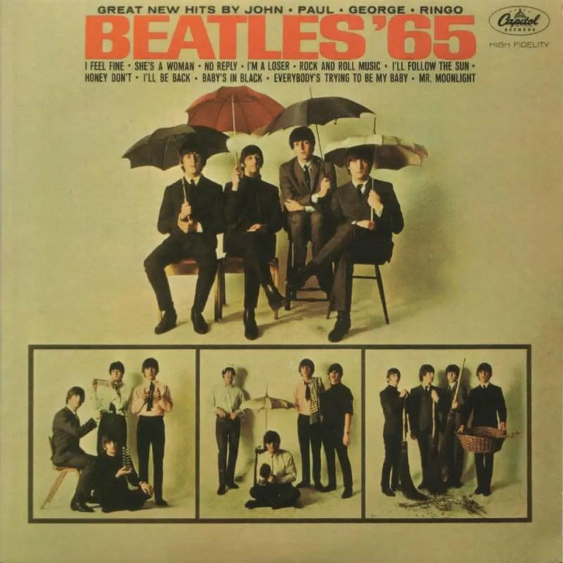 Beatles '65 album artwork – USA