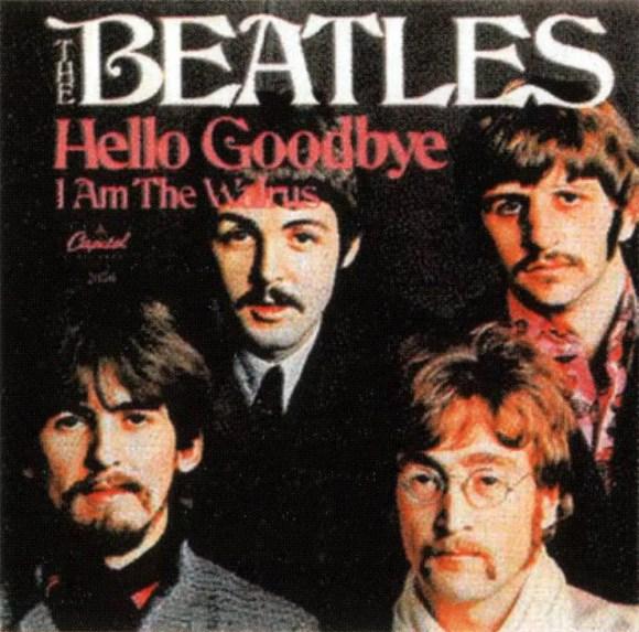Hello, Goodbye single artwork – USA