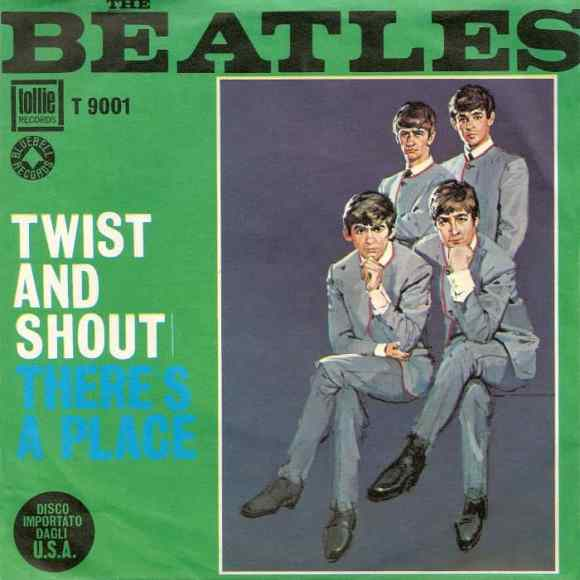 Twist And Shout single artwork – USA