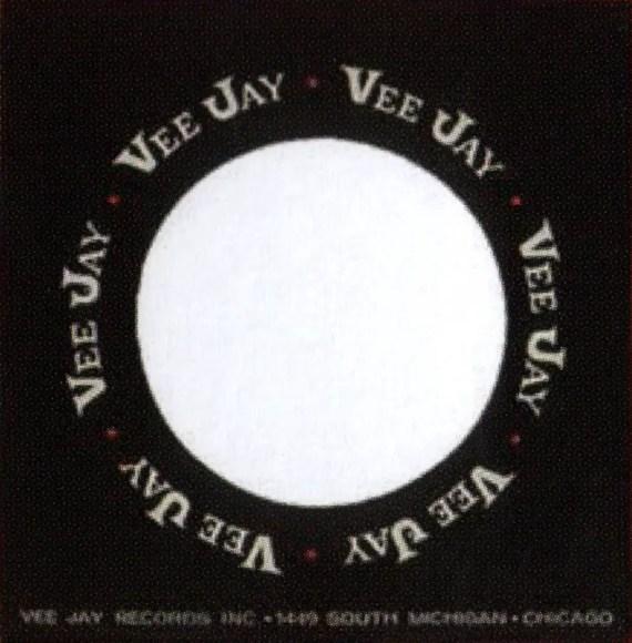 Vee Jay single sleeve - USA