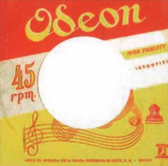 Odeon single sleeve - Venezuela