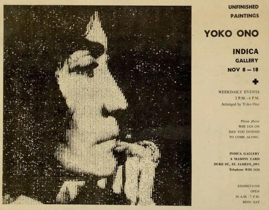 John Lennon Meets Yoko Ono The Beatles Bible