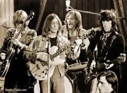 The Dirty Mac: Eric Clapton, John Lennon, Mitch Mitchell, Keith Richards 1968