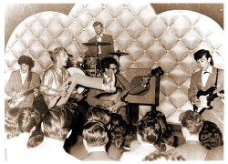 Rory Storm and the Hurricanes with Ringo Starr on drums