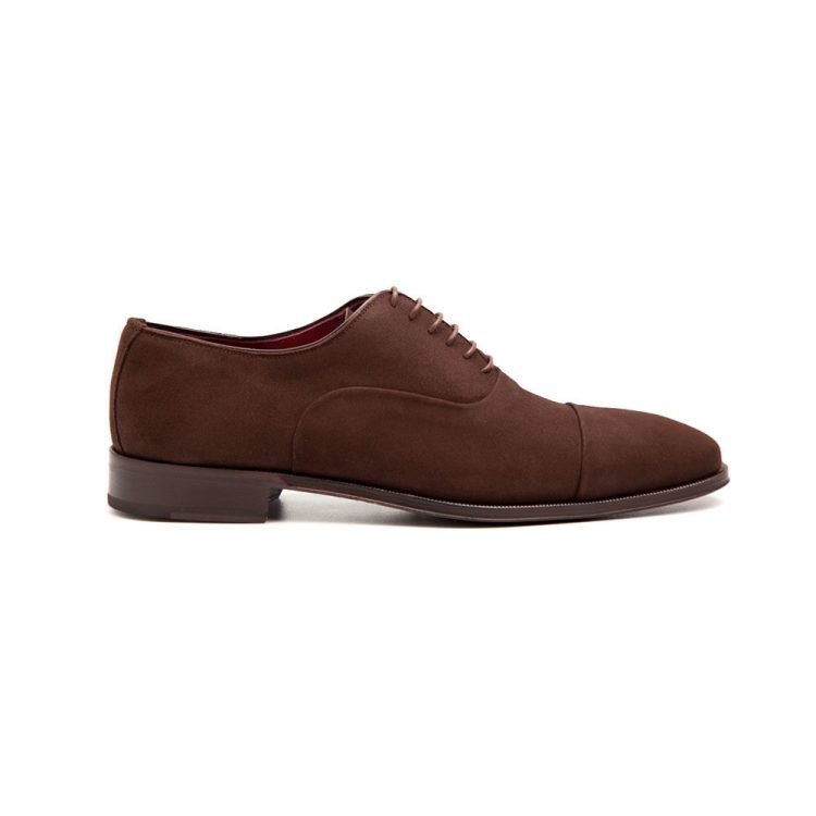 Corso Oxfords en ante marrón