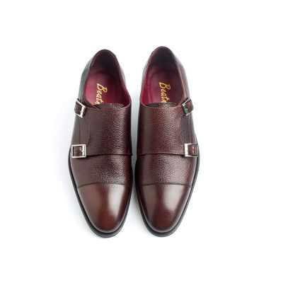 Zapato monk marrón de hombre Lamantia Brown por Beatnik Shoes