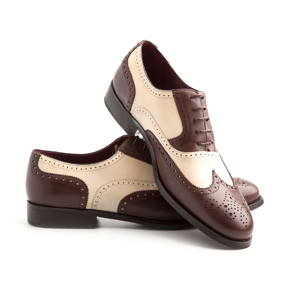 Handmade in Spain Oxford shoes by Beatnik Shoes
