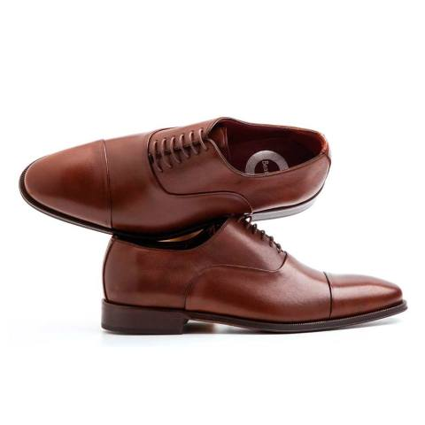 Brown Laces shoes for men handmade in Spain by Beatnik