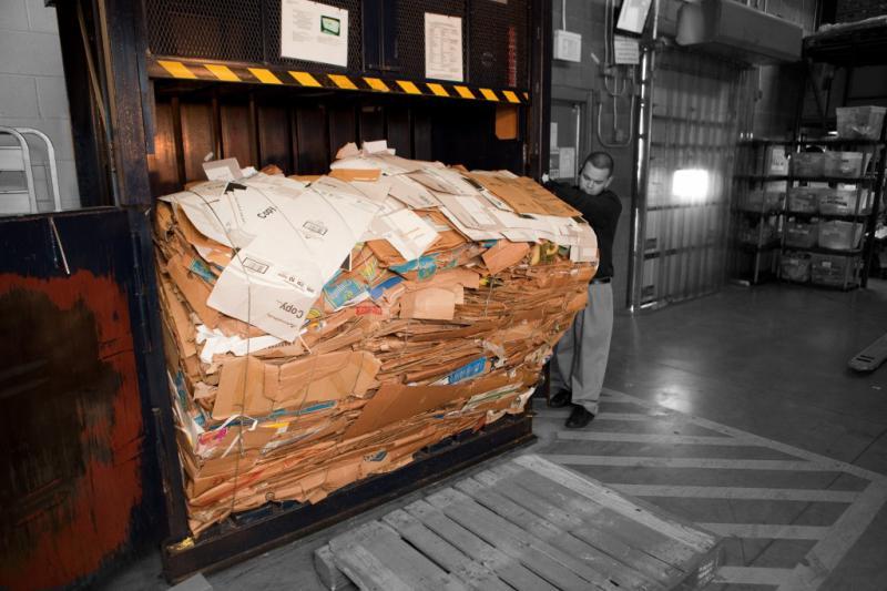 Cardboard Baler
