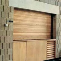 Wayne Dalton Wood Counter Shutter