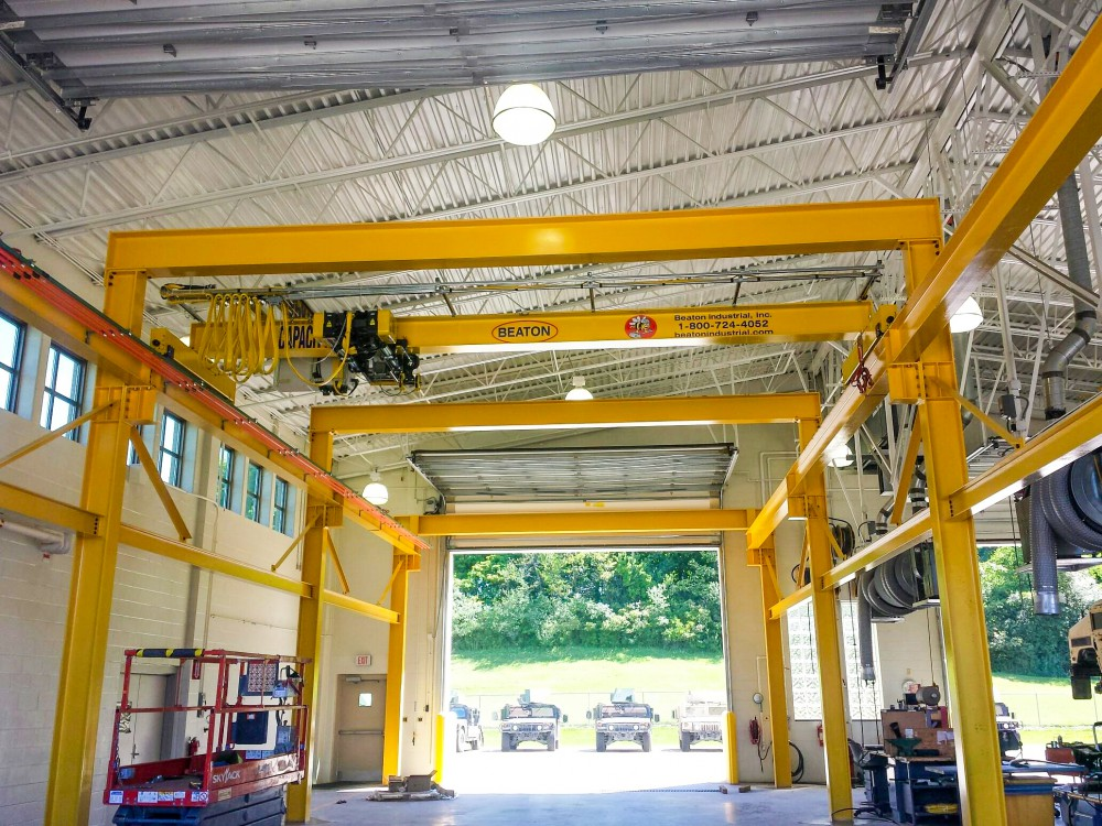 Using Overhead Bridge Cranes At Armories And Military Bases