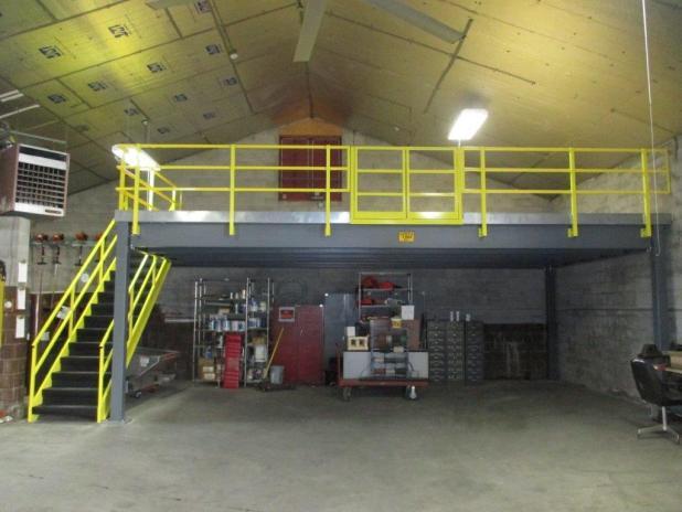 Mezzanine National Park Service Maintenance Building
