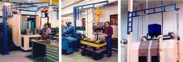 Work Station Jib Crane Examples