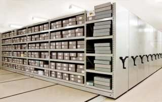 Mobile Government Evidence Archival Shelving