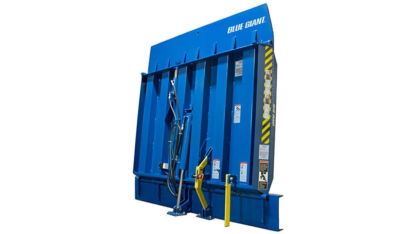 Vertical Storing Dock Leveler