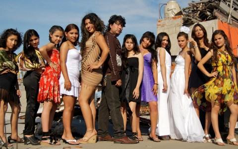 Modeling school for girls in Villa 31. Shot for The Argentina Independent.