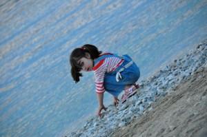 © Beatrice Otto Mykonos girl on beach