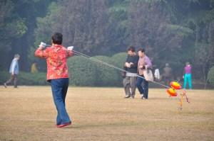 © Beatrice Otto Shanghai Fuxing Park lady