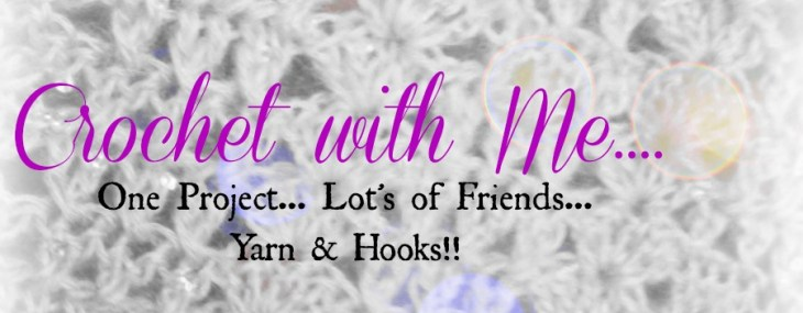 Crochet with Me!!  Brand new weekly crochet segment…