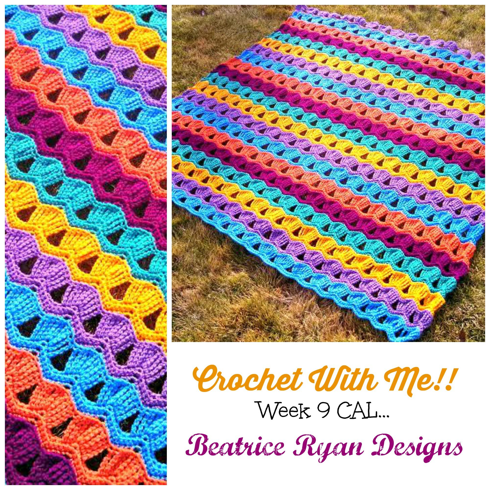 Crochet With Me… Week 9 CAL!!!