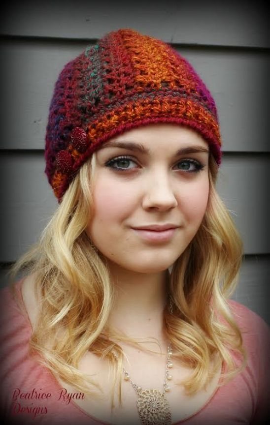 Effortless Chic Crochet Beanie