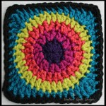 Granny's Circle in Square… Free Crochet Pattern!