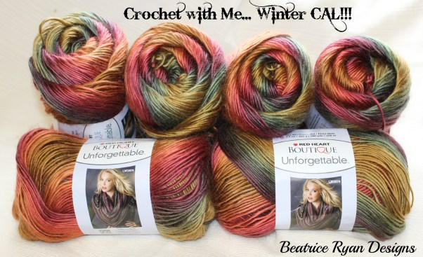 Unforgettable yarn winter CAL