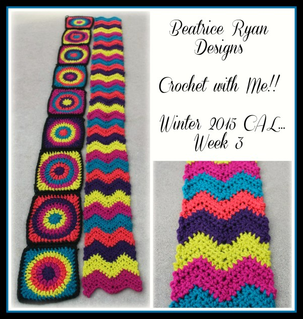 Crochet with Me!! Winter 2015 CAL Week 3 Impeccable