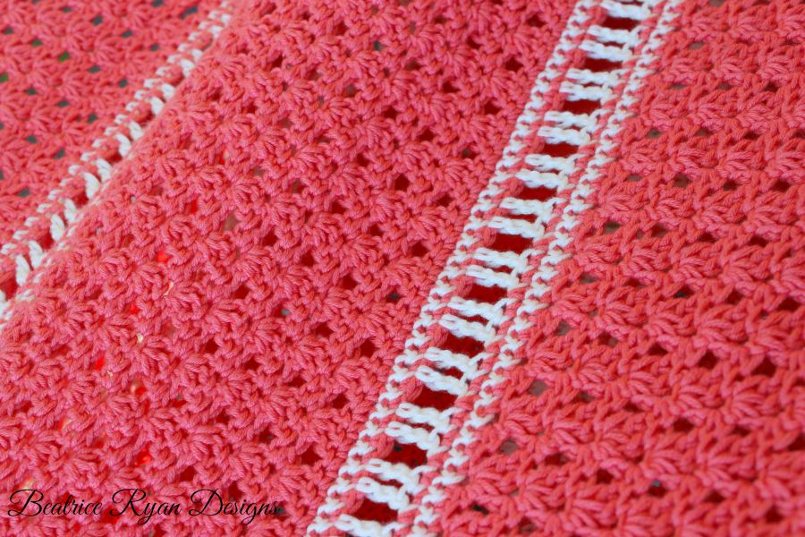 Amazing Grace Summer Shawl Close up