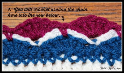 Crochet with Me Week 4 Stitches