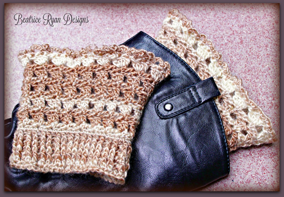 Amazing Grace Boot Cuffs New Free Crochet Pattern