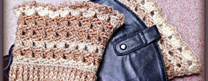 Amazing Grace Boot Cuffs ~ New Free Crochet Pattern!!