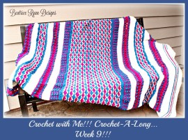 Crochet with Me!! 2016 Week 9