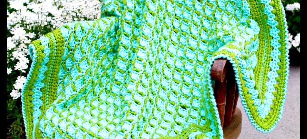 Frog Pond Baby Blanket… Free Crochet Pattern!!