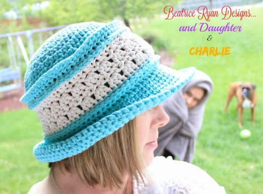 Amazing Grace Summer Hat Photobomb