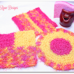 Cheery Kitchen Scrubby's… 3 Free Crochet Patterns!!!