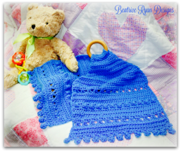 Blue Bells Teething Lovely... Free Crochet Pattern