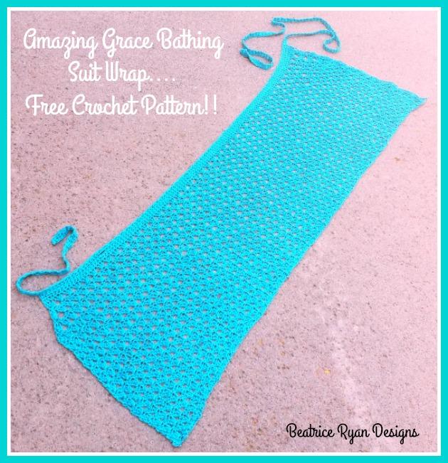 Amazing Grace Bathing Suit Wrap Free Crochet Pattern